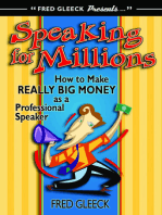 Speaking for Millions How to Make Really Big Money as a Professional Speaker