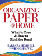 Organizing Paper @ Home