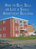 How to Buy, Sell or List a Small Apartment Building