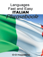 Languages Fast and Easy ~ Italian Phrasebook
