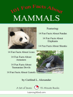 101 Fun Facts About Mammals