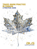 Trade-mark Practice in Canada: A Practical Guide