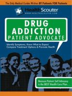 HealthScouter Drug Addiction Patient Advocate
