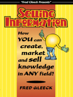Selling Information