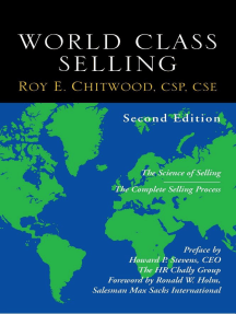 World Class Selling, 2nd edition
