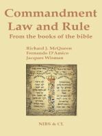 Commandment, Law and Rule