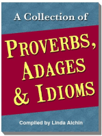 A Collection of Proverbs, Adages and Idioms