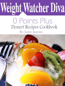 Weight Watchers Diva 0 Points Plus Dessert Recipes Cookbook