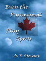 Even the Paranormal Play Sports