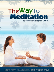 The Way to Meditation