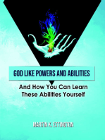 God LIke Powers & Abilities