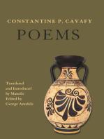 Constantine P. Cavafy. Poems