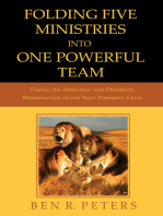 Folding Five Ministries Into One Powerful Team