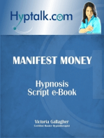 Manifest Money Hypnosis Script eBook
