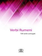 Verbi rumeni (100 verbi coniugati)
