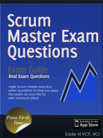 Agile ScrumMaster Exam Questions
