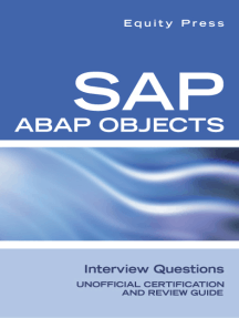 SAP ABAP Objects Interview Questions