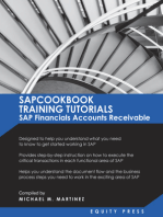 SAPCOOKBOOK Training Tutorials SAP Financials: Accounts Receivable