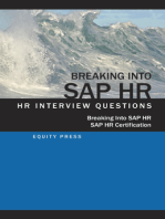 Breaking In to SAP HR