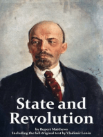 The State and Revolution including full original text by Lenin