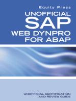Unofficial SAP WebDynpro for ABAP