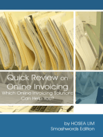 Quick Review on Online Invoicing