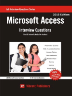Microsoft Access Interview Questions You'll Most Likely Be Asked