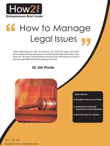How to Manage Legal Issues