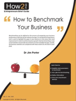 How to Benchmark Your Business