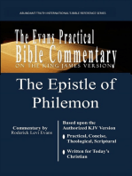 The Epistle of Philemon