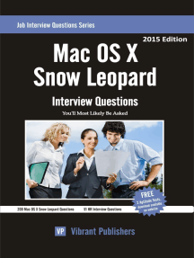 Mac OS X Snow Leopard Interview Questions You'll Most Likely Be Asked