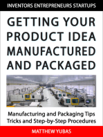 Getting Your Product Idea Manufactured and Packaged