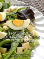 Traditional Romanian Hors d'Oeuvres