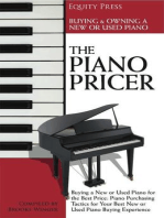 The Piano Pricer