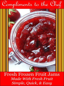 Fresh Frozen Fruit Jams: Made With Fresh Fruit