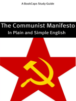 The Communist Manifesto in Plain and Simple English (A Modern Translation and the Original Version)