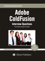 Adobe ColdFusion Interview Questions You'll Most Likely Be Asked