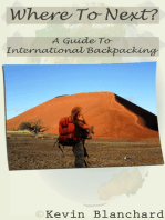 Where To Next? A Guide To International Backpacking