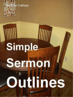 Simple Sermon Outlines