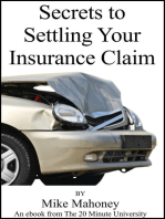 Secrets to Settling Your Insurance Claim