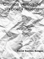Últimos versos de un poeta muerto