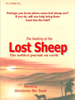 The Seeking Of The Lost Sheep