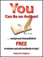 You Can Be an Author!