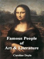 Famous People of Art and Literature