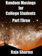 Random Musings for College Students