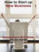 How to Start up a New Business