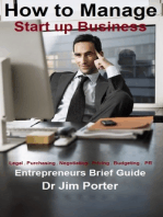 How to Manage Start up Business
