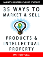 35 Ways to Market and Sell Products and Intellectual Property