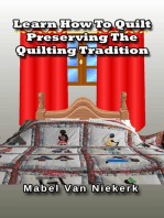 Learn How To Quilt