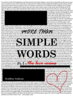 More Than Simple Words Pt. I